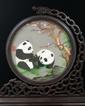 苏绣 双面绣熊猫